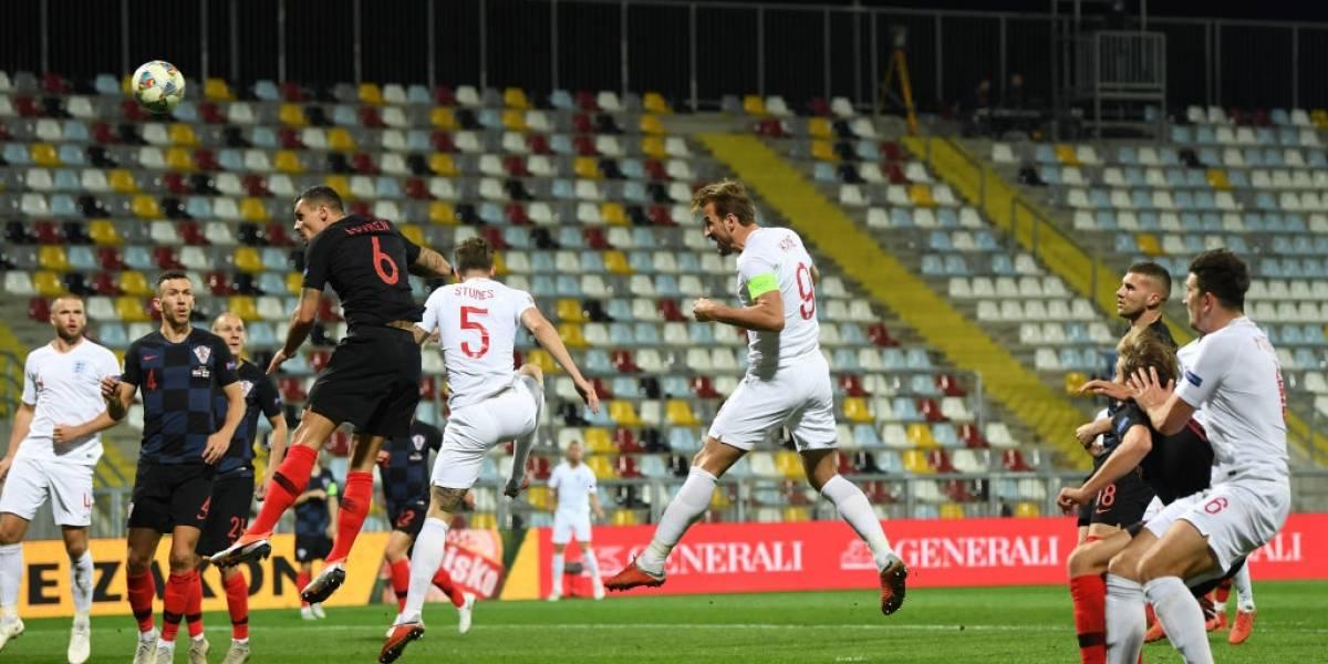 Croacia e Inglaterra empataron y dejaron a España a un paso de la clasificación en la Nations League