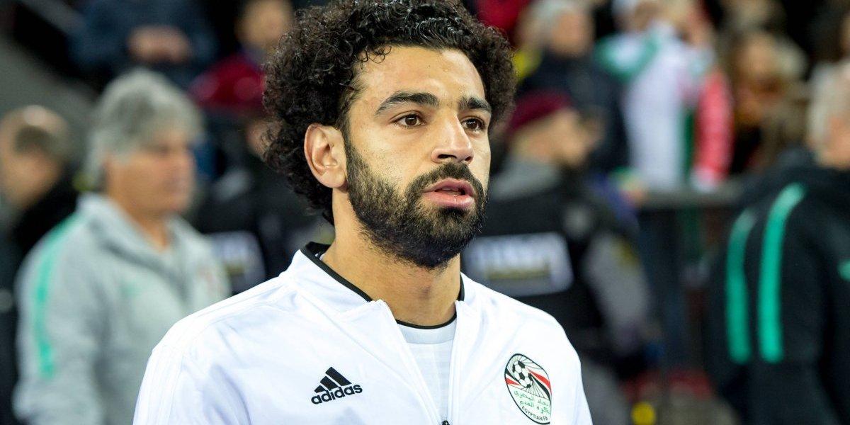 Impresionante gol olímpico del egipcio Mohamed Salah