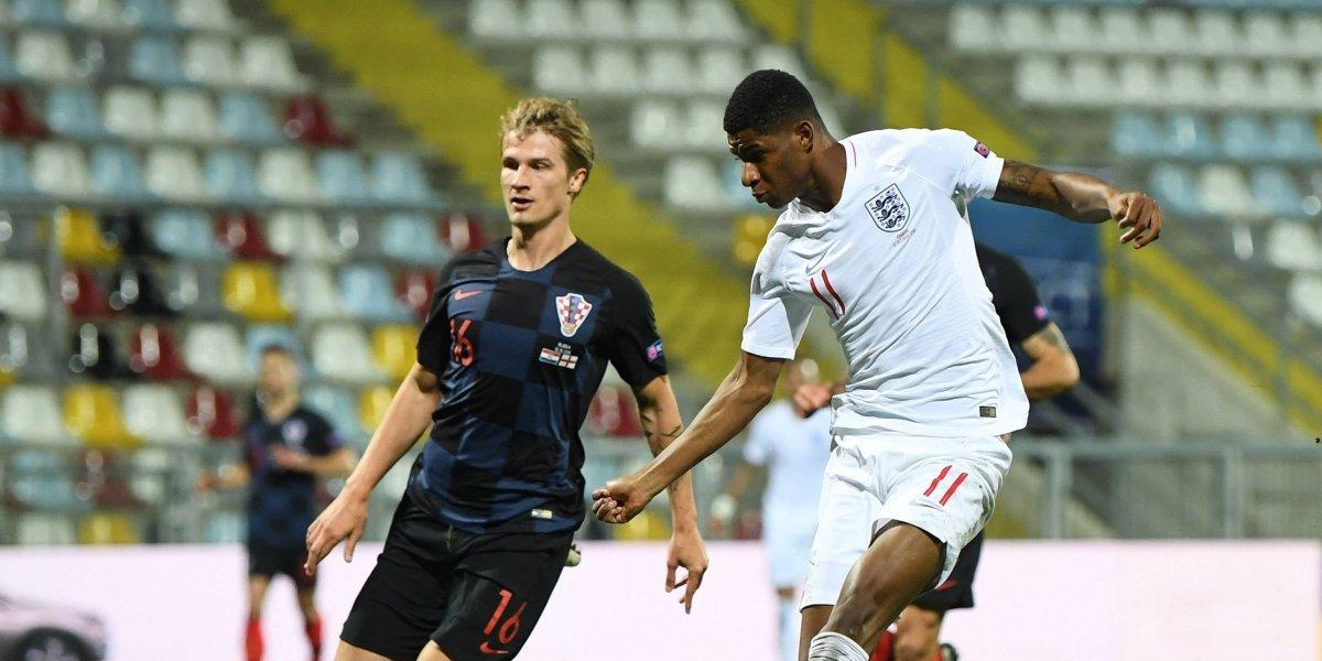 Ante un estadio vacío Croacia e Inglaterra ofrecen aburrido empate sin goles