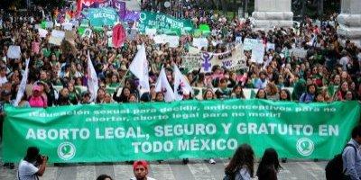 Marcha despenalización del aborto