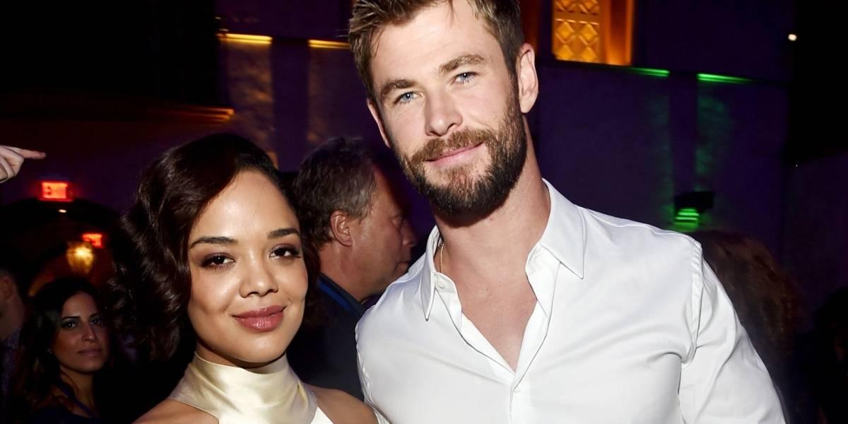 Men in Black: Vean a Tessa Thompson y Chris Hemsworth en nueva imagen de la película