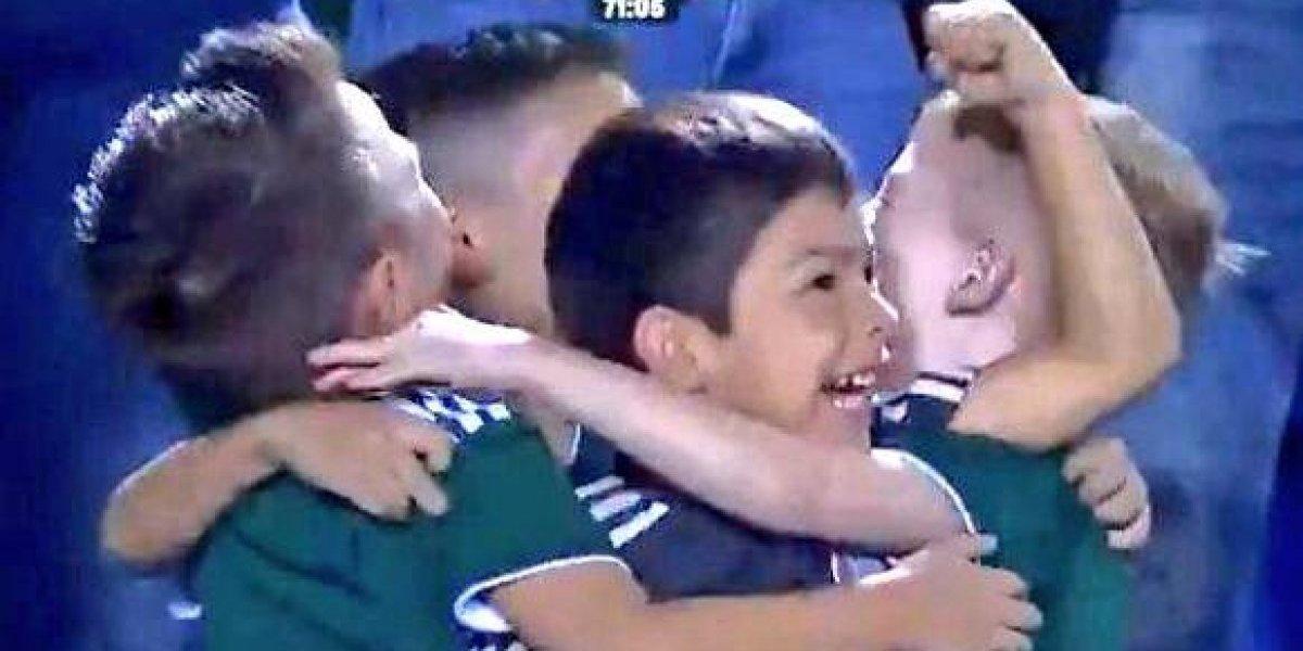 Tigres busca a los niños que conmovieron a todos con tierno festejo tras gol del Tri