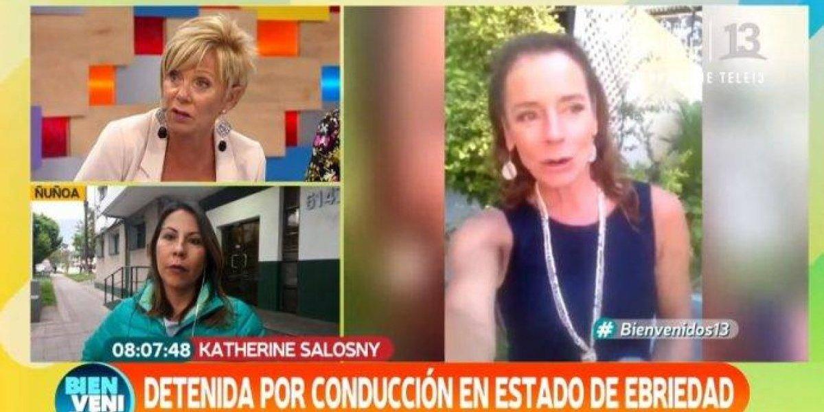 Raquel Argandoña critica duramente a fiscal que dejó libre a Katherine Salosny