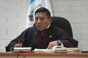 Juez Pablo Xitumul.