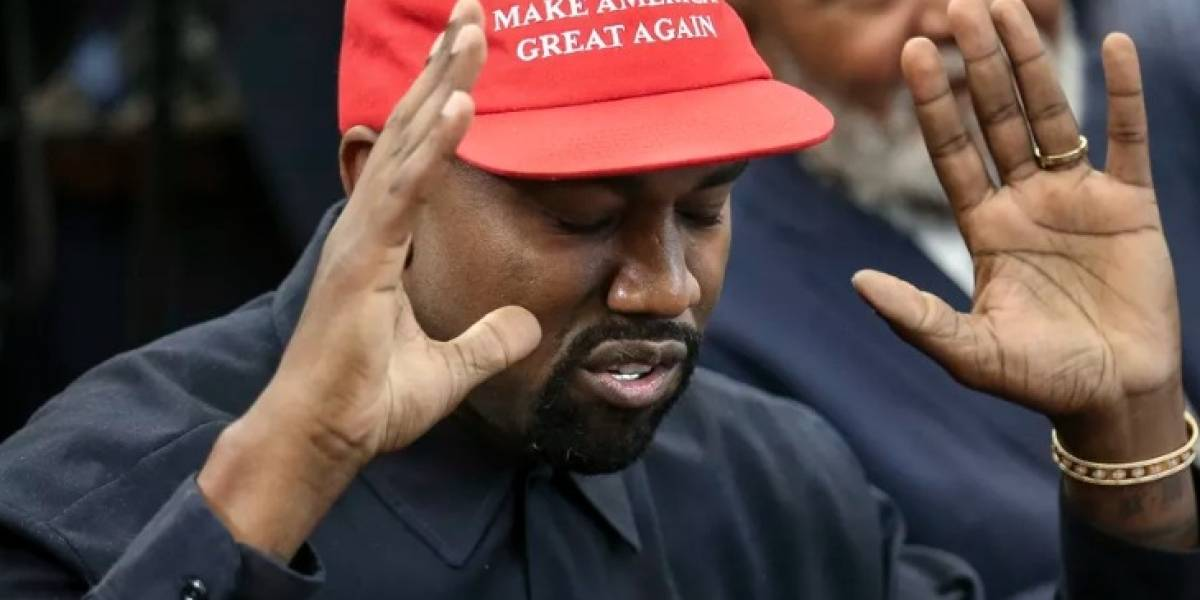 Kanye West se junta con Donald Trump y enloquece