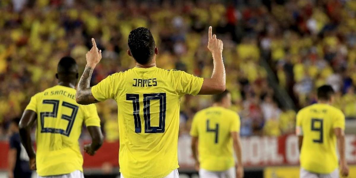 VIDEO. James se apodera del show con golazo y lidera triunfo de Colombia ante EE. UU.