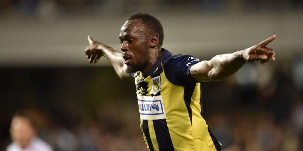 VIDEO. Usain Bolt anota sus primeros goles como futbolista profesional