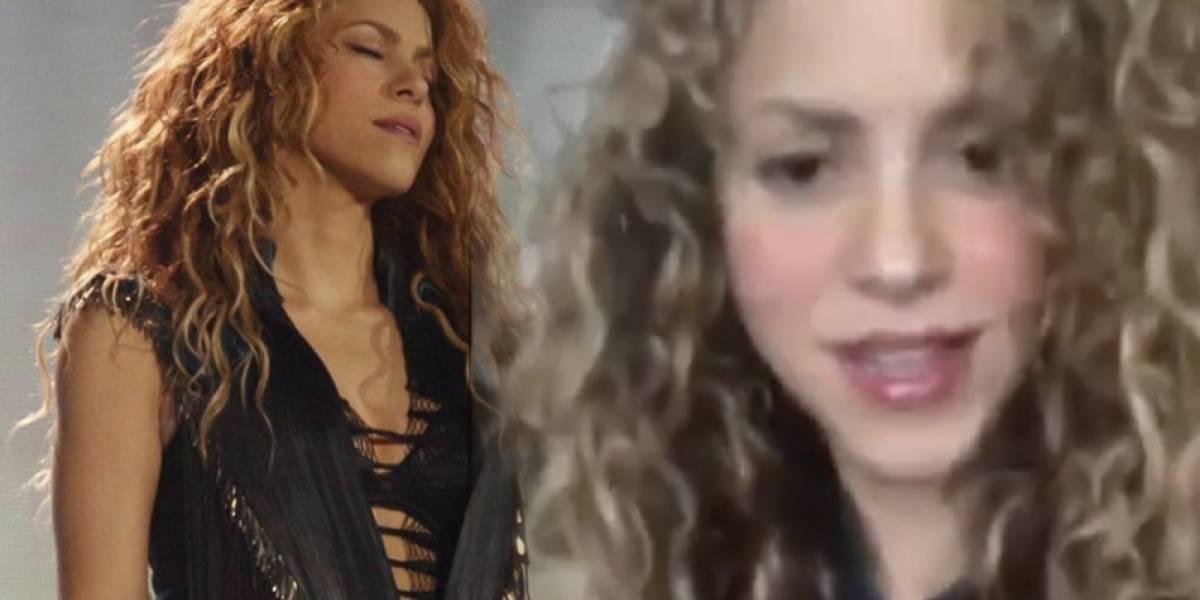 """Los fans no perdonan: critican a Shakira por hablar """"como española"""" y """"olvidarse"""" de sus raíces"""