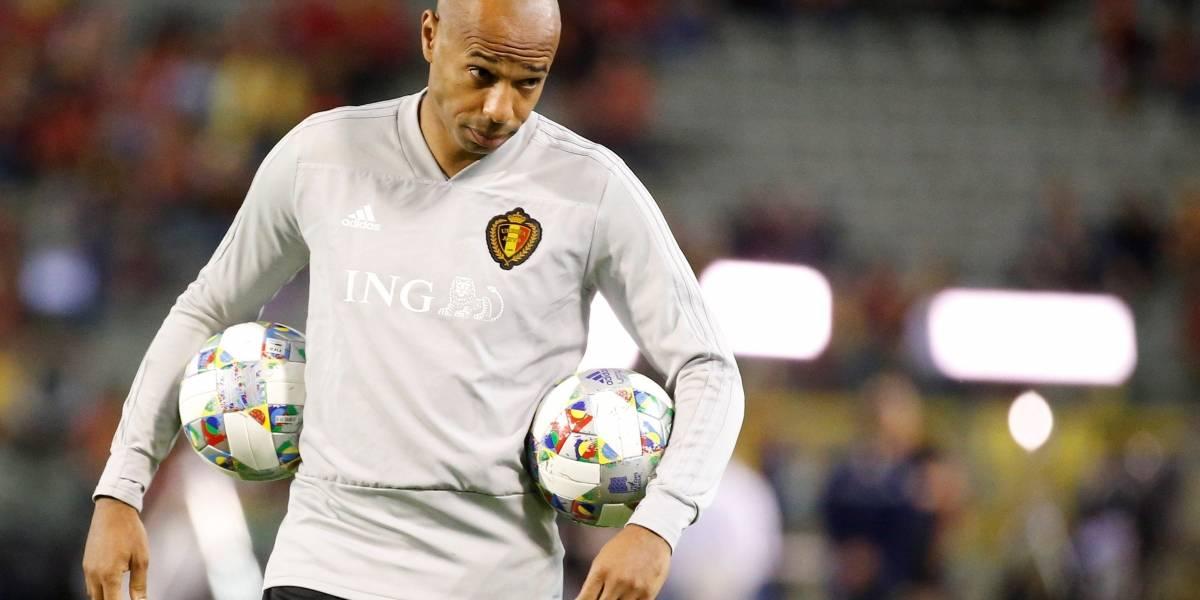 Thierry Henry será el nuevo técnico de Falcao García en el Mónaco