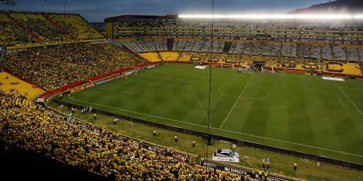 Así quedó el estadio Monumental de Barcelona SC después del concierto de Maluma