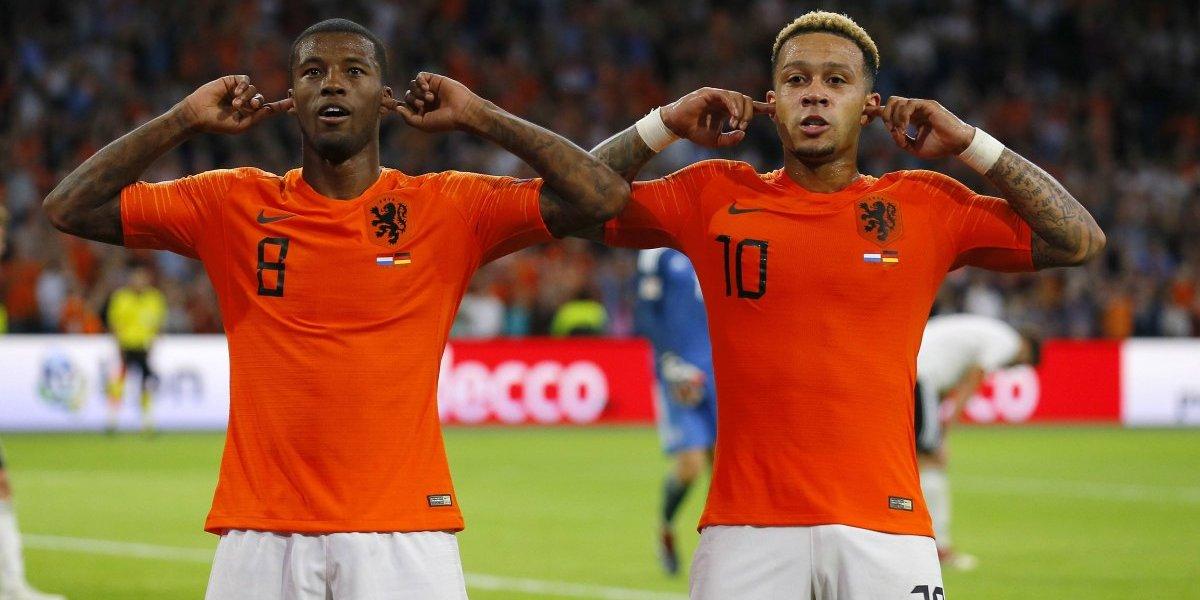 Holanda no tuvo piedad y goleó a una Alemania que sigue en crisis