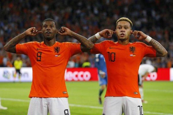Holanda festeja / imagen: AP