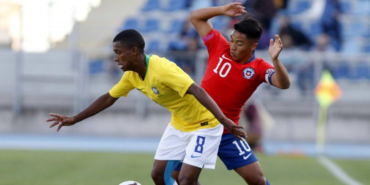 Minuto a minuto: La Roja Sub 20 hace buen partido ante el poderío de Brasil