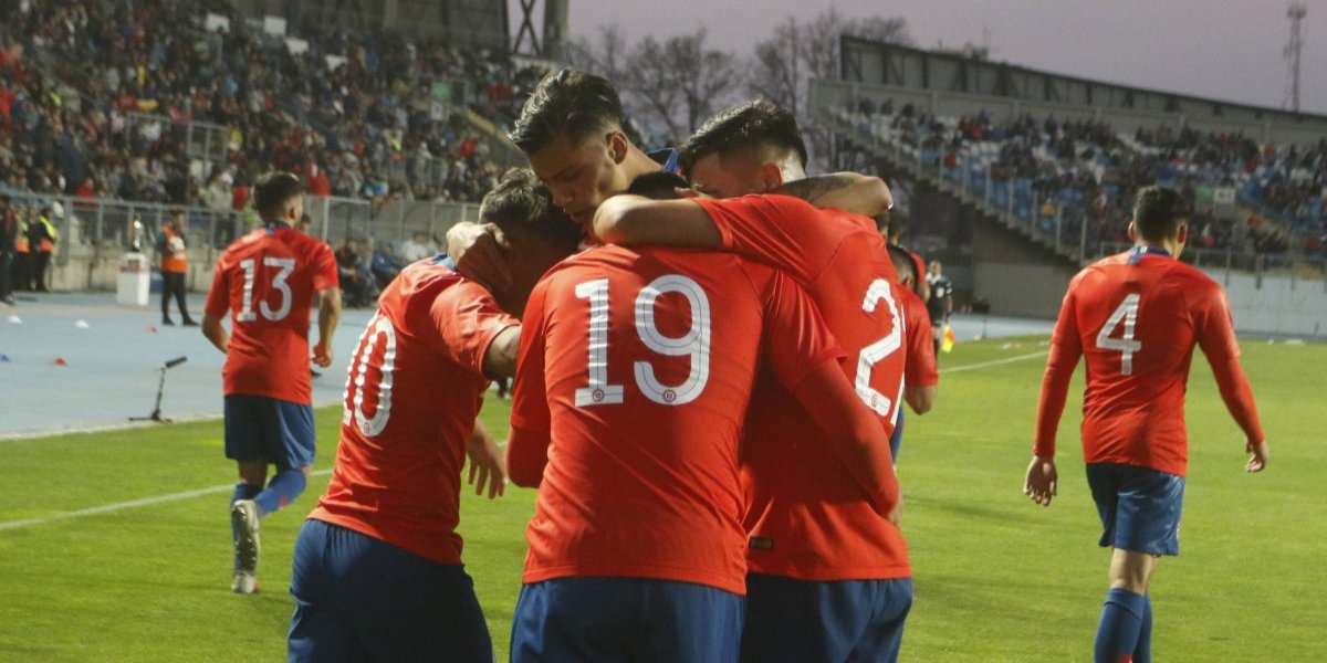 La Roja Sub 20 tuvo un buen examen con Brasil y pudo sacar un empate en Rancagua