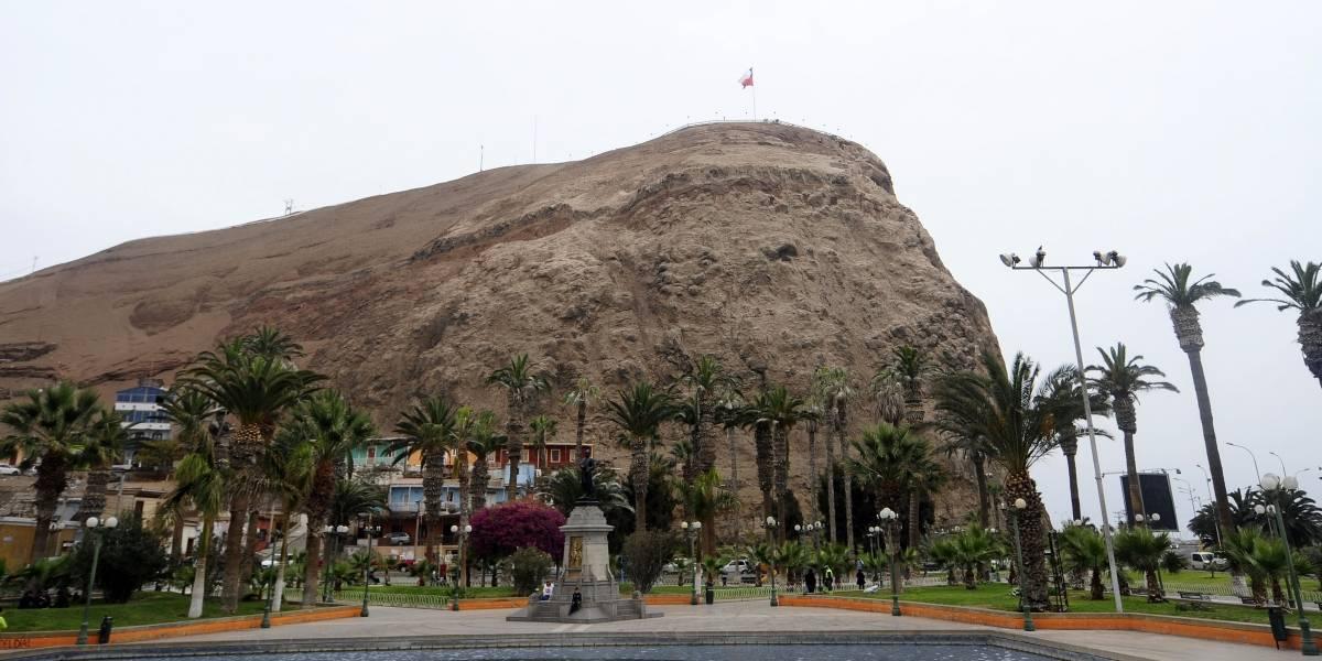 Hombre decidió lanzarse desde el Morro de Arica para terminar con su vida