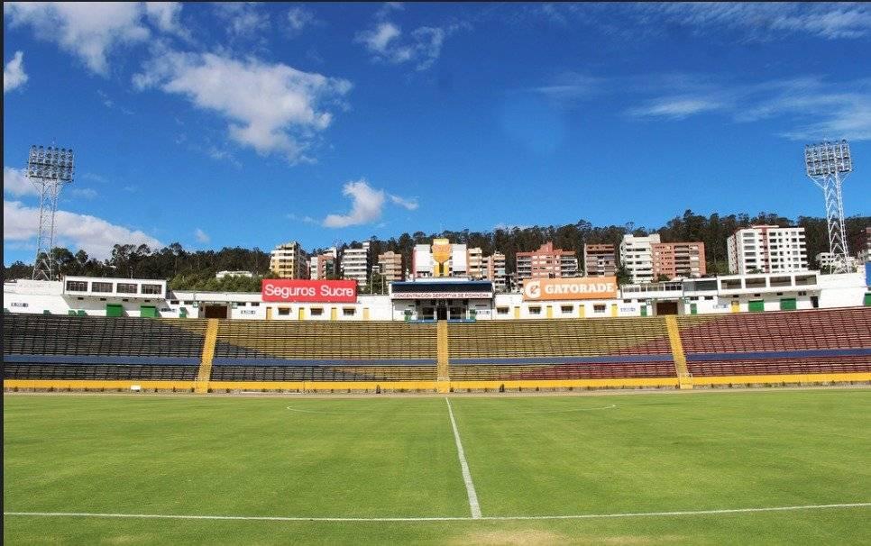 Estadio Olímpico de Atahualpa Flickr- Vasco da Gama