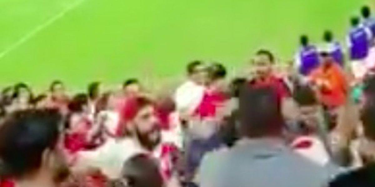 VIDEO: Así fue la terrible pelea campal entre aficionados de Perú y Chile