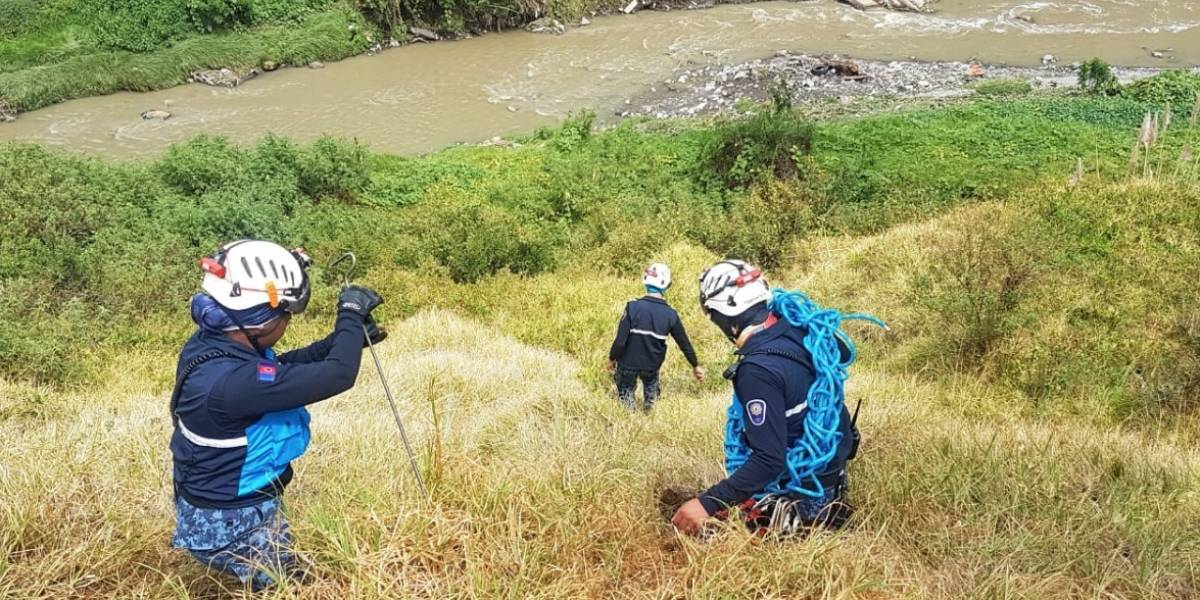 Quito: Fiscalía realizó reconstrucción de hechos entorno a desaparición de Juliana Campoverde