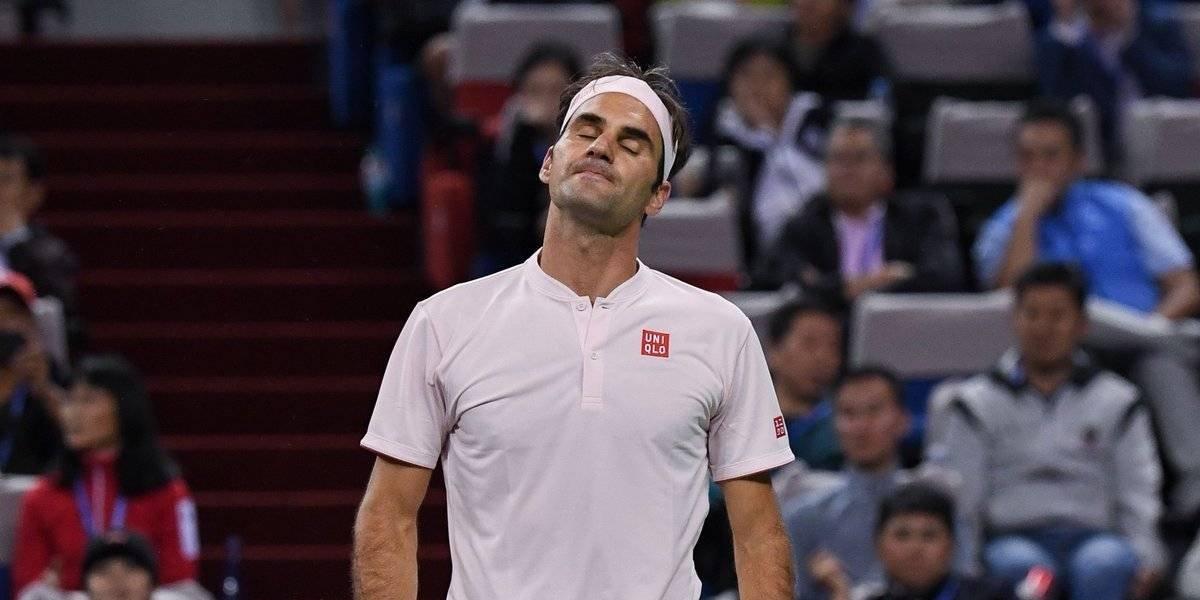 Roger Federer quedó eliminado del Masters 1000 a manos de Borna Coric