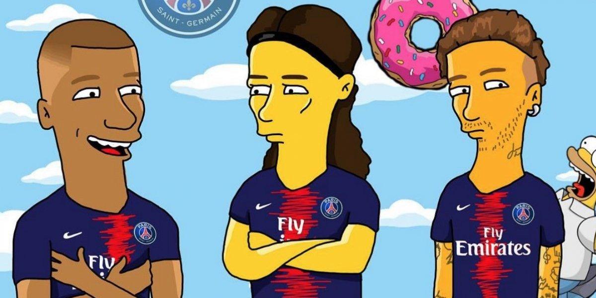 FOTOS: Así lucirían los futbolistas si fueran personajes de Los Simpson