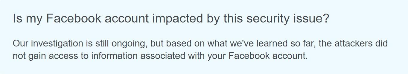 Facebook te avisa si tus datos personales fueron robados en el último gran hackeo que sufrió la red social