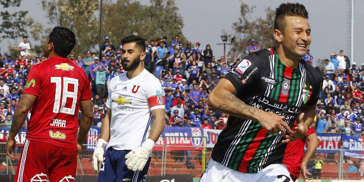 La U fue eliminada de Copa Chile por el Palestino de Basay y su opción de ir a la Libertadores queda tambaleando