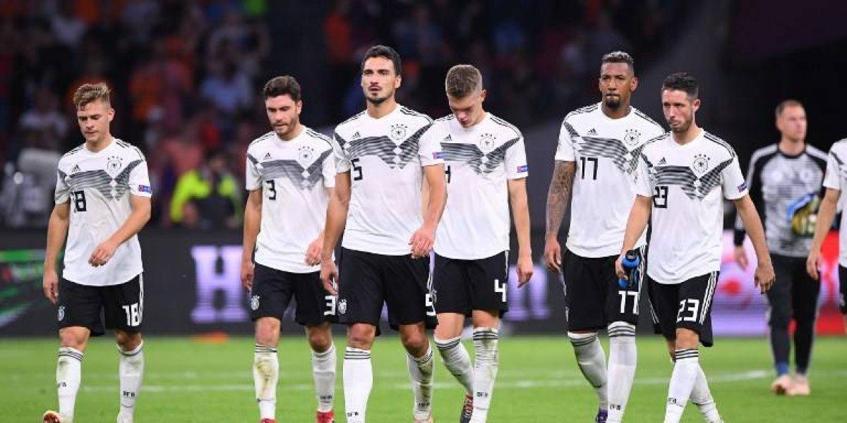VIDEO. Alemania sufre humillación en su partido contra Holanda
