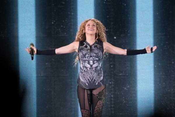 Shakira en concierto en México