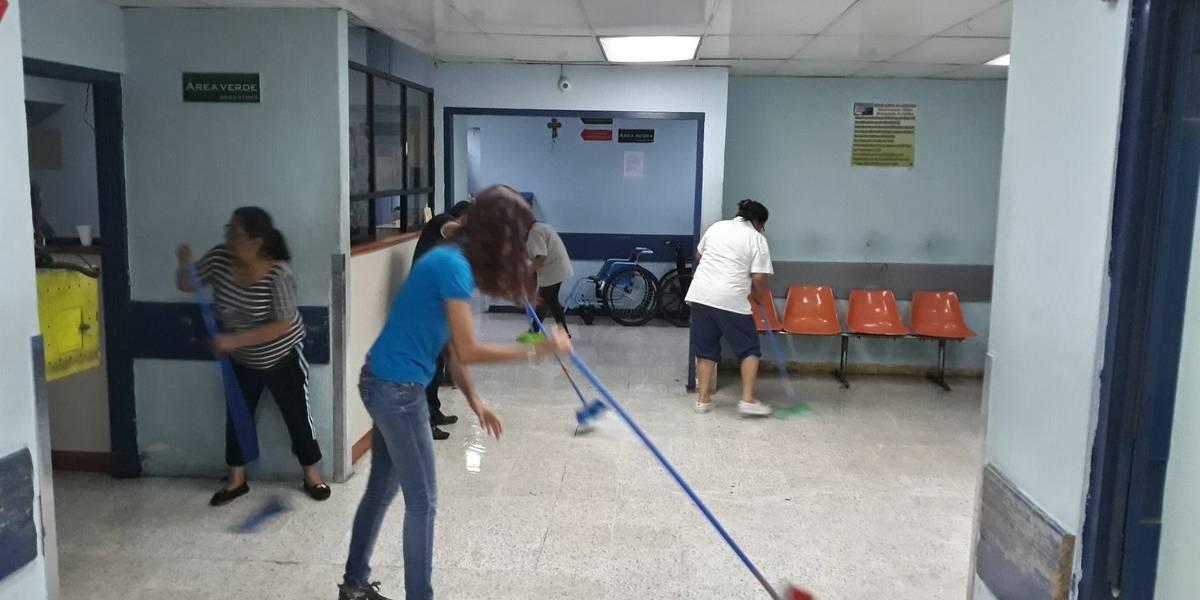 Hospital General reparó las tuberías que fueron dañadas por sismo