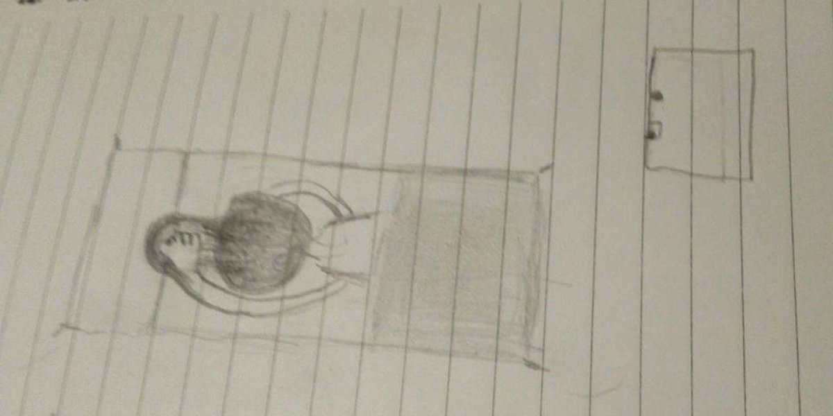 Víctima de abuso sexual muestra con dibujos el horror que vivía