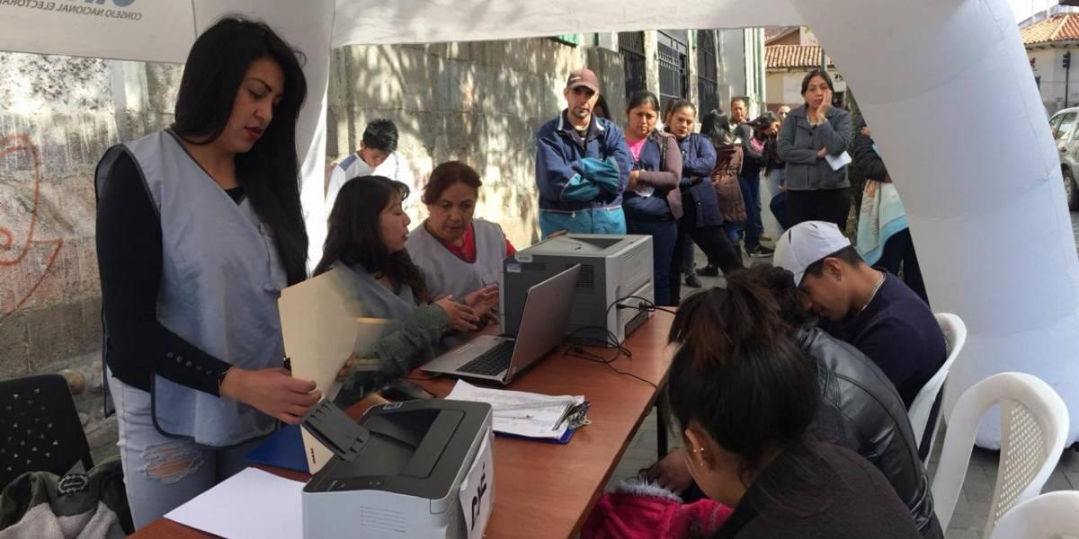 Más de 18 mil ciudadanos cambiaron su domicilio electoral en Azuay