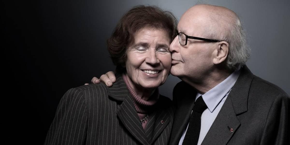 O casal de caçadores de nazistas condecorado pelo governo da França