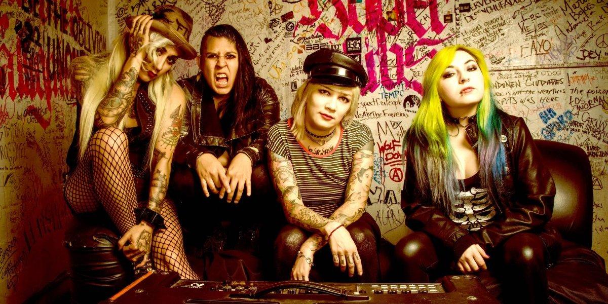 Dos bandas con sello femenino y mucha actitud