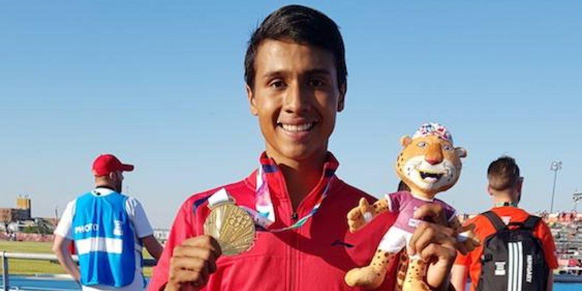 Mexicano Avilés se baña en oro en el atletismo de Buenos Aires 2018