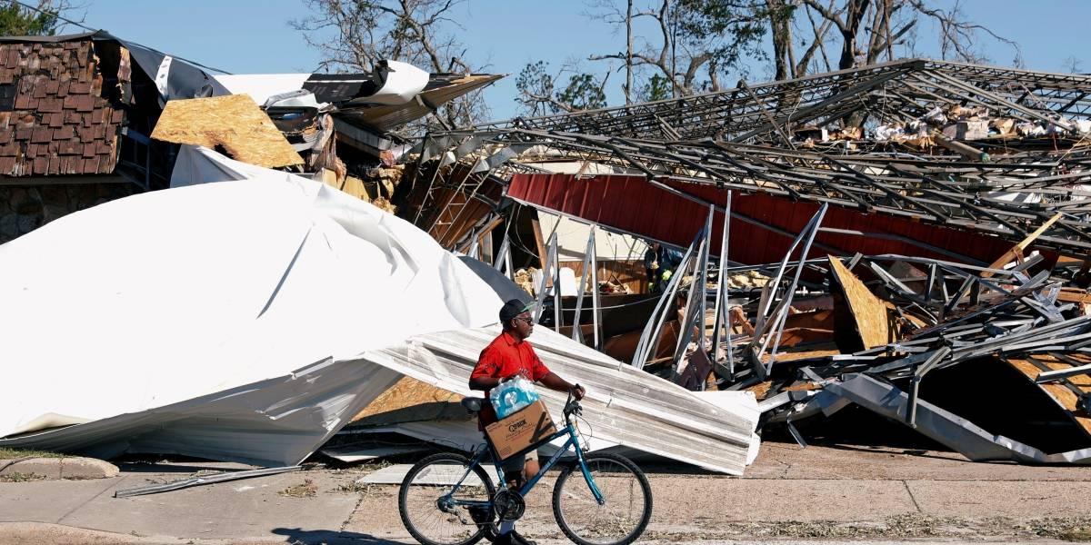 Esperanças de encontrar mais sobrevives do furacão Michael estão desaparecendo