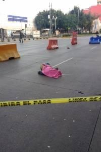 Atropellan a hombre en CDMX; presunto responsable se dio a la fuga