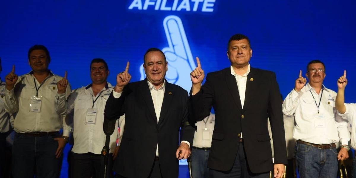 Partido Vamos postula a Alejandro Giammattei como presidenciable