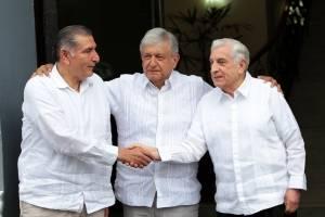 AMLO se reúne con gobernador de Tabasco; pide elevar producción petrolera