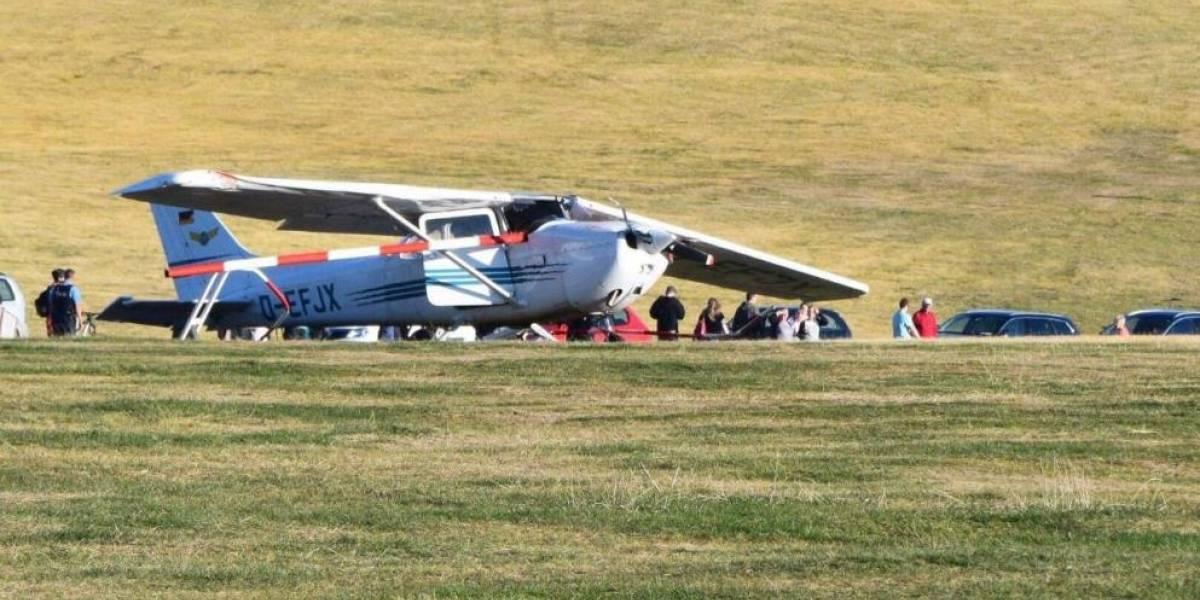 Se estrella avioneta en Alemania; reportan varios muertos