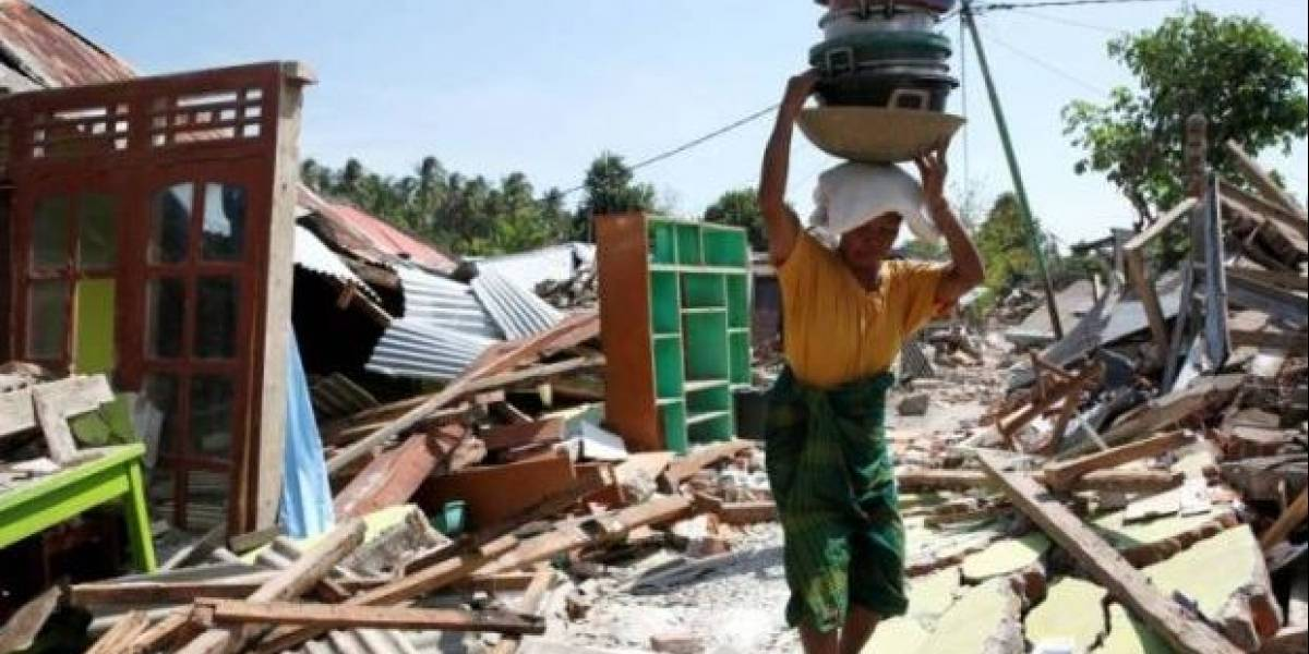 Indonesia: Daños por terremoto y tsunami superan los 500 millones de dólares