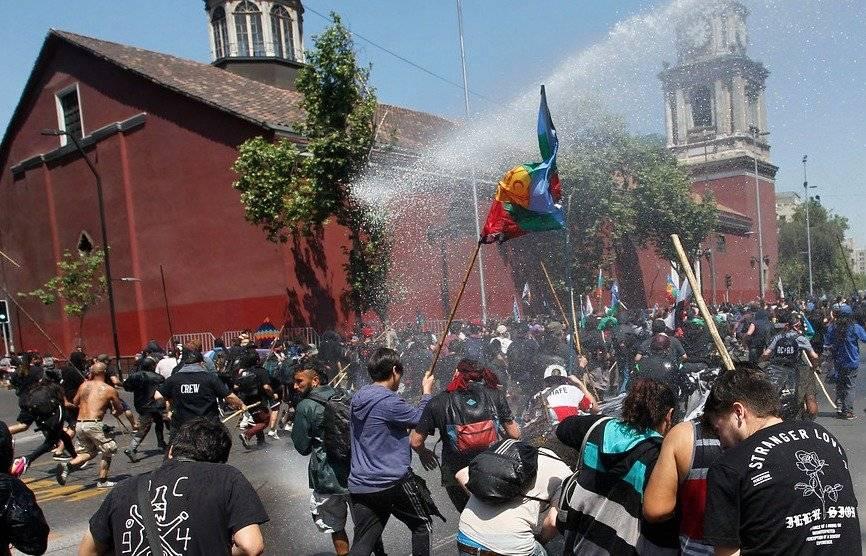Marcha resistencia mapuche