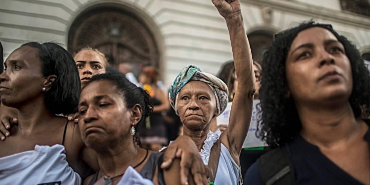 Río de Janeiro recordó a la concejal Marielle Franco al cumplirse 7 meses de su asesinato