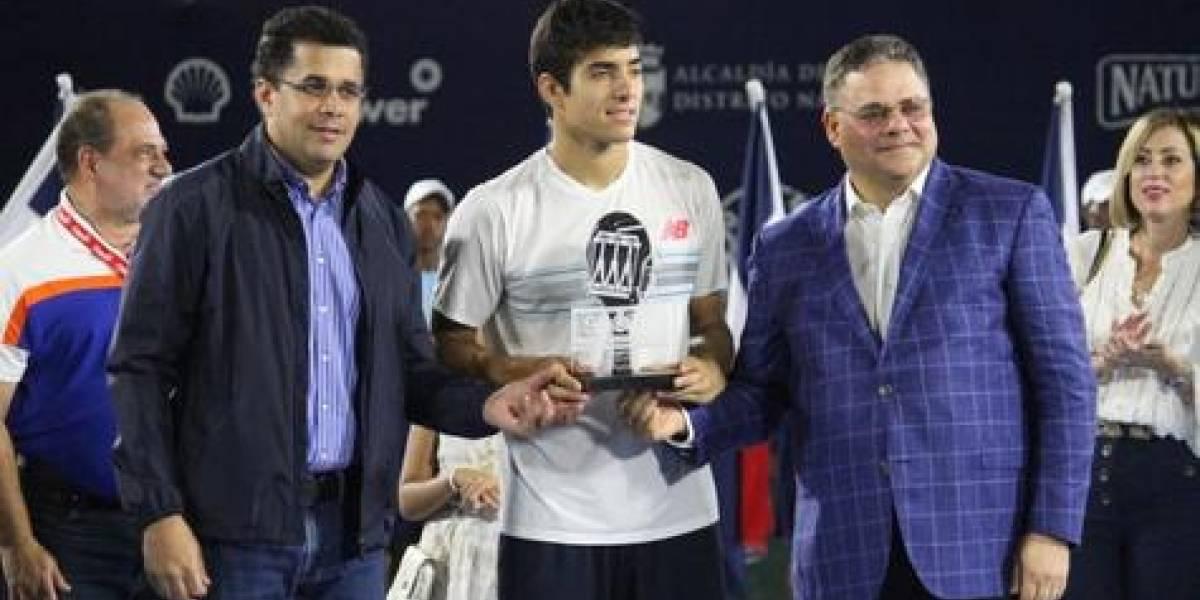 Christian Garín se coronó campeón del Santo Domingo Open