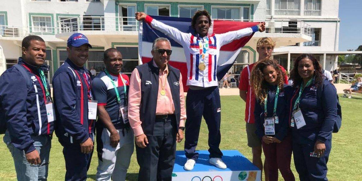 Deury Corniel gana el oro en Olímpicos de la Juventud