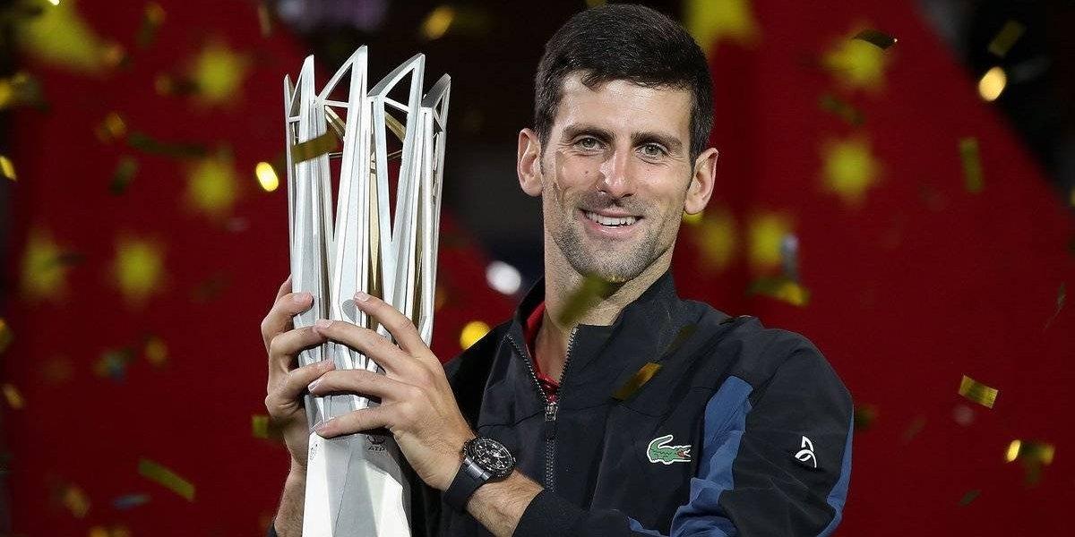Djokovic vence a Coric para proclamarse campeón del Masters 1000 de Shanghái