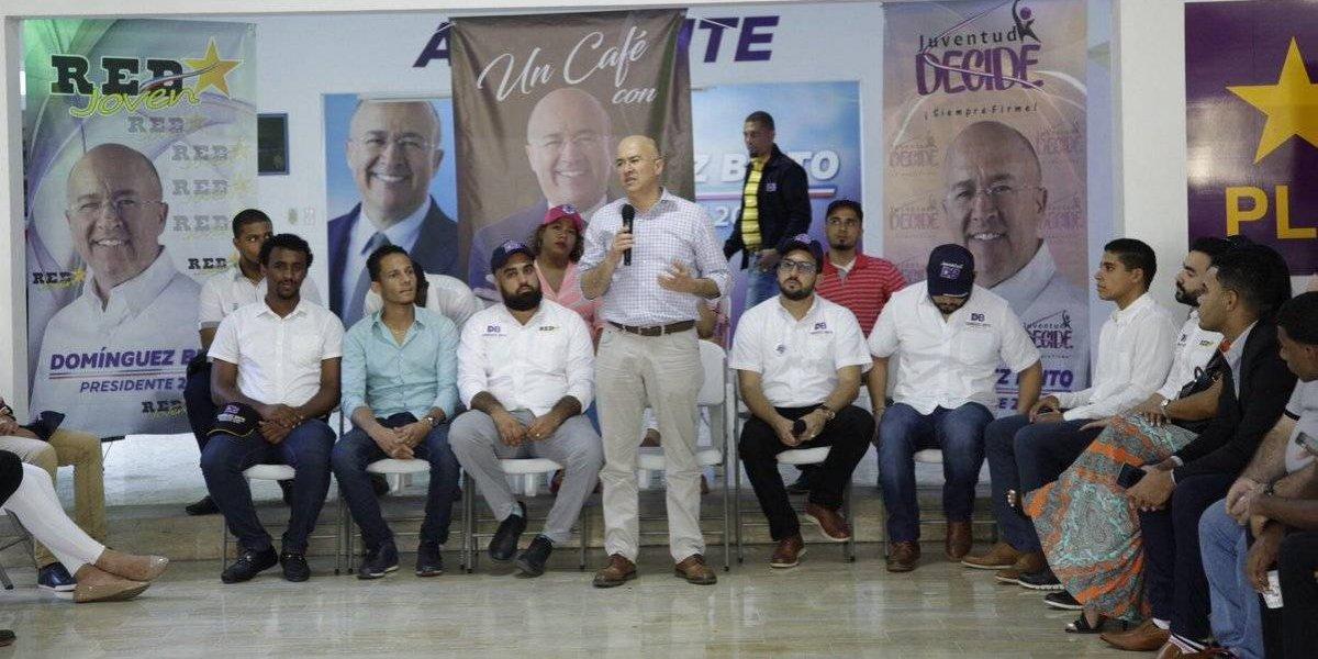 Domínguez Brito dice el PLD tiene que renovarse de cara a los comicios del 2020