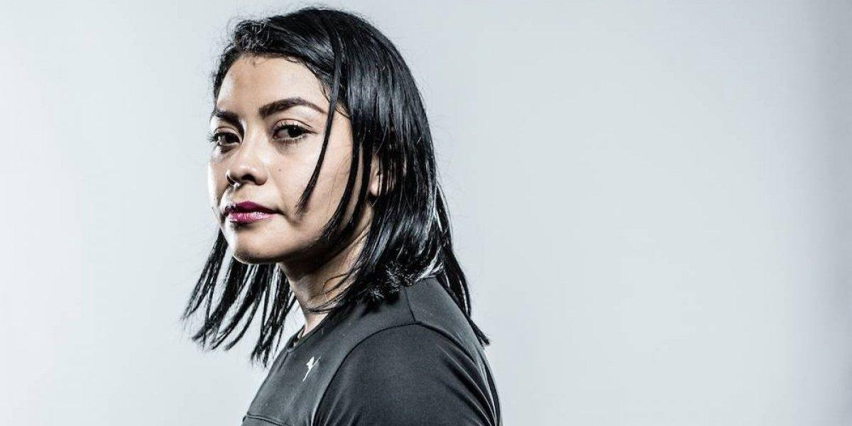 Eréndira Ordoñez, estudiante, madre y peleadora de MMA