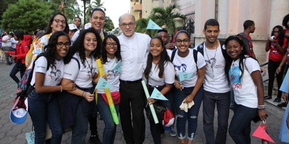 #TeVimosEn: Peregrinos de la JMJ 2019 celebran II Encuentro Nacional en la Diócesis de Baní