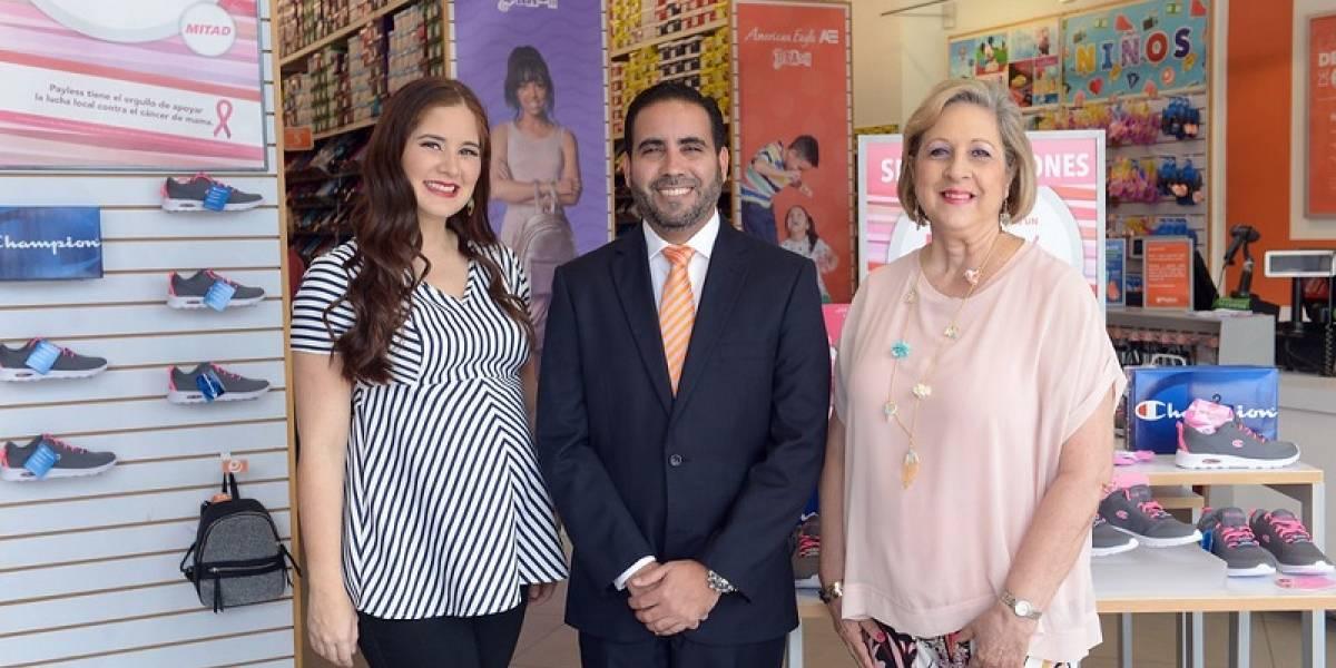 #TeVimosEn: Payless celebra compaña a beneficio del cáncer de mama