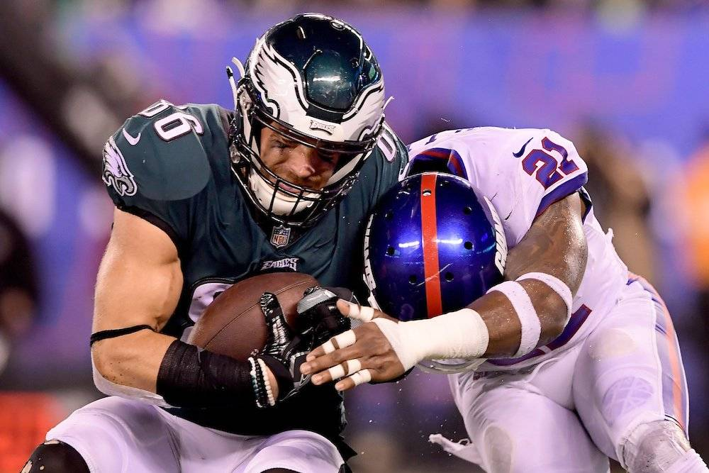 Eagles 34-13 Giants / Getty Images